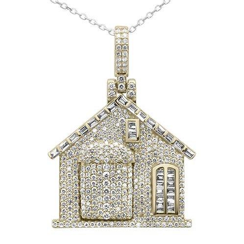 10k 'Trap House' Pendant