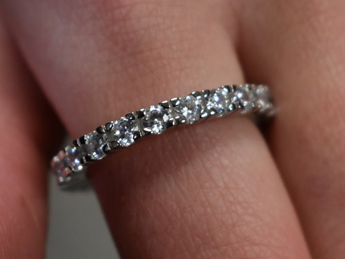 JB Round Cut Eternity Band