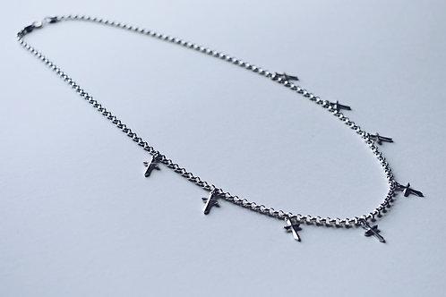 JB Cross Necklace