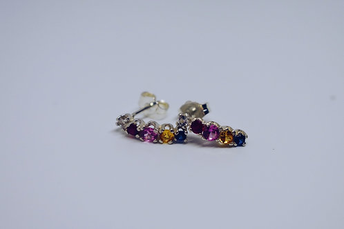 JB Rainbow Drop Earrings