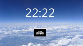 Copy of  22:22 צופן המעביר מסר של שלום פנימי