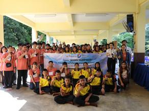 โครงการจิตอาสานำความรู้สู่ชุมชน เพื่อการอนุรักษ์พันธ์สัตว์ป่าใกล้สูญพันธ์ ปี 3 จ.กาญจนบุรี