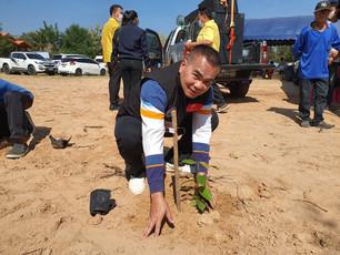 โครงการปลูกป่าคืนแผ่นดินปลูกของกินคืนธรรมชาติ ครั้งที่ 8 สถานที่ ณ บ้านหนองเชียงโข่