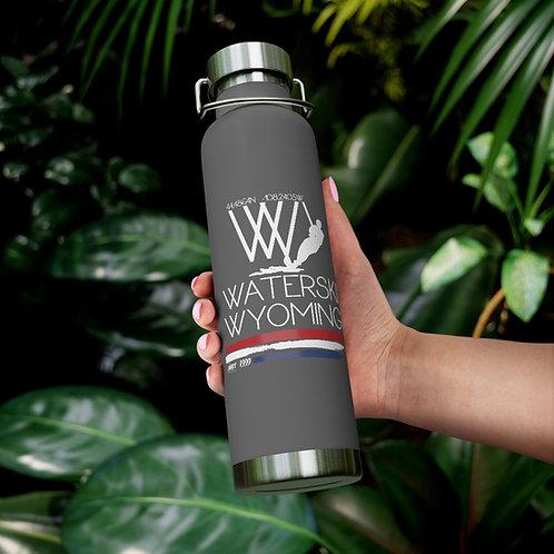 22oz Vacuum Insulated Bottle | Waterski Wyoming