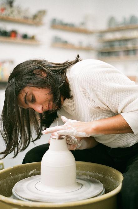 LEA BANCHEREAU PORTRAITS D'ARTISTES: AIMEE FRANCO