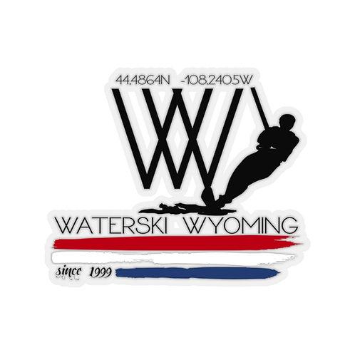 Kiss-Cut Stickers | Waterski Wyoming