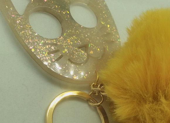 Self-Defense Kitty Keychain