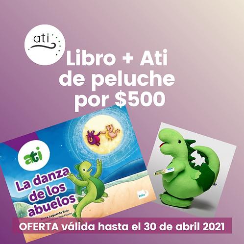 Libro + Ati de Peluche