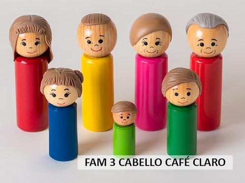 Familia de madera 3