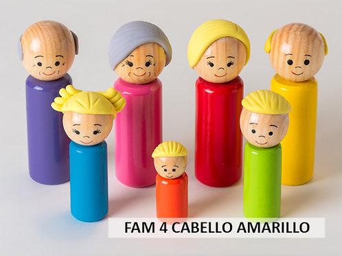 Familia de madera 4