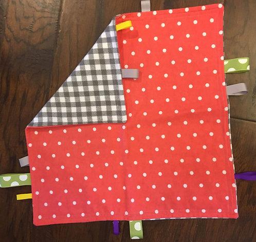 Dots & Gingham Large Sensory Blanket