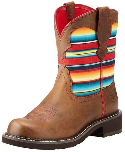 Ariat Women's Serape Fatbaby Heritage Brown Boot