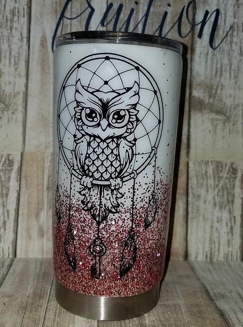 Owl Dreamcatcher Tumbler