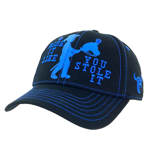 Cowboy Hardware Royal/Black Youth Cap
