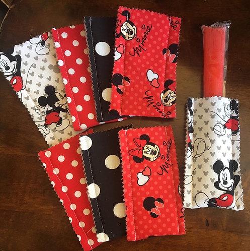 Mickie & Minnie Popsicle Sleeves