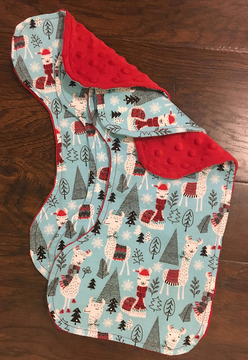 Merry Lamas Burp Cloths