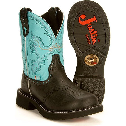 Justin Women's Gypsy Gemma Light Blue Boots