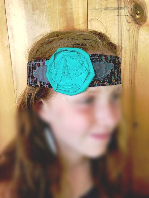 Dawn Rosette Head Wrap