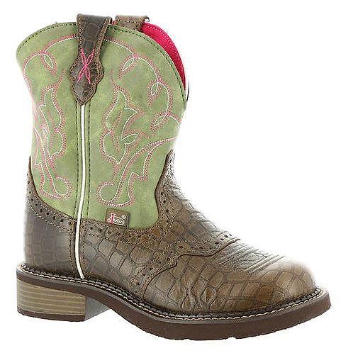 Justin Women's Gemma Moss Gator Print Western Boots