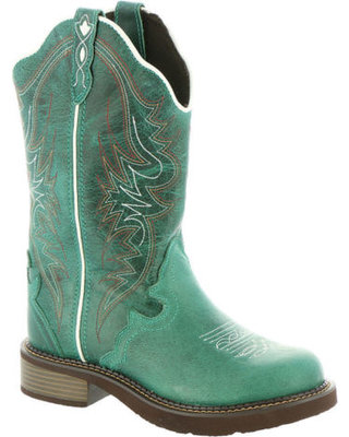 Justin Women's Gypsy Lily Blue Boots