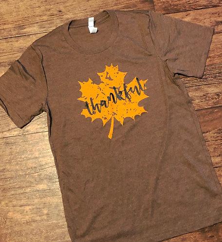Thankful/Maple Leaf Tee