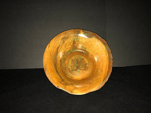 Jefferson Oak Burl Bowl