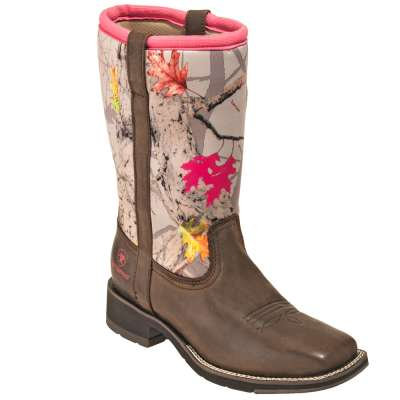 Ariat Ladies Fatbaby All Weather Pam Brown Boot