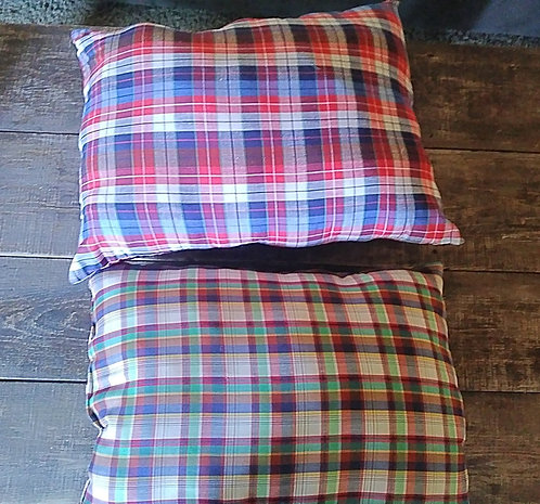 Plaid Decorative Pillows