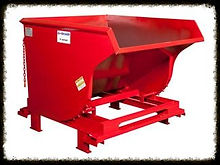 wastequip hopper, galbreath hopper