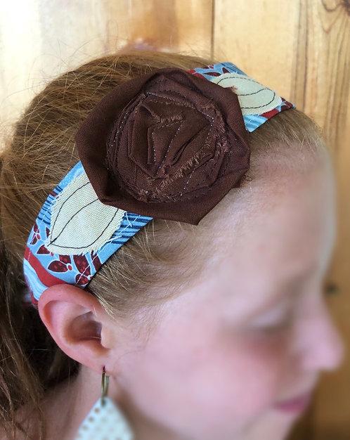 Carolina Rosette Head Wrap