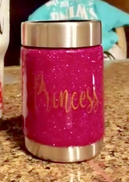 """Princess"" Can Koozies"