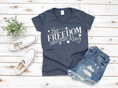 Let Freedom Ring Tee/Tank
