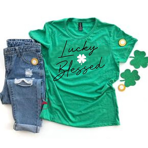 Lucky & Blessed Tee