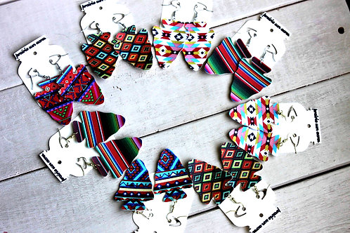 Arrowhead Print Earrings