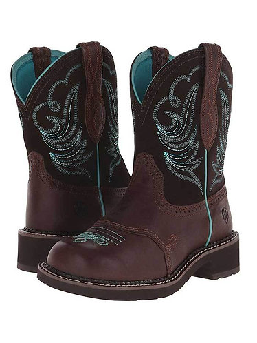 Ariat Fatbaby Women's Heritage Dapper Brown Boots