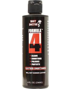 Boot Doctor Formula 4 Leather Conditioner  8-Oz