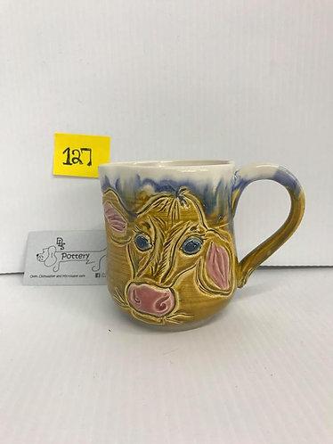 Calf Face Tan Mug #127