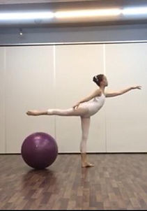 ball training for ballet