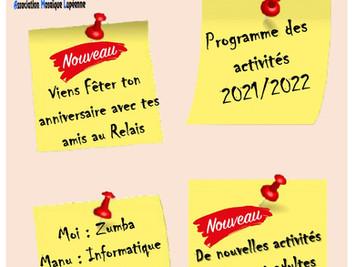 Catalogue de la saison 2021-2022
