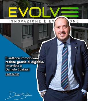 """""""Il settore immobiliare resiste alla pandemia grazie al digitale"""": Daniele Scatassi a """"Evolve"""""""