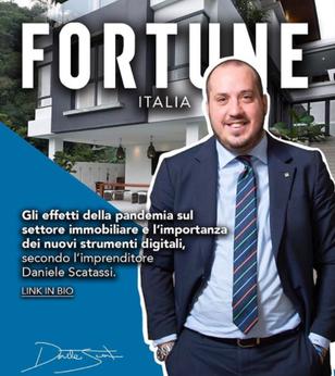 """Daniele Scatassi al """"Fortune"""": Come resiste il settore immobiliare"""