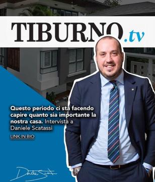 """Daniele Scatassi al Tiburno.tv: """"Il mercato immobiliare ripartirà"""""""