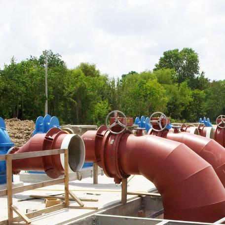WHCRWA Plant No. 1 Pump Station