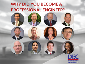 WHY DID YOU BECOME A PROFESSIONAL ENGINEER?