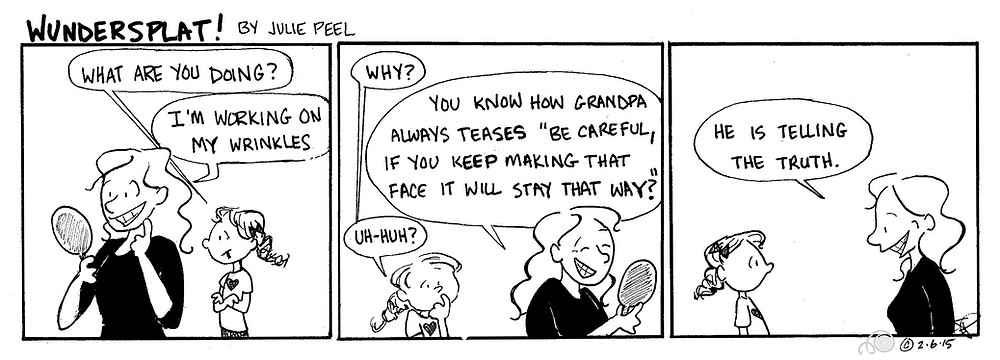 Funnies- Wundersplat- Be careful or your face will stay that way