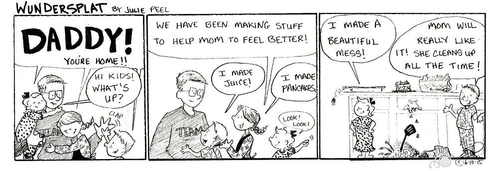 Funnies-Wundersplat comic-Beautiful Mess