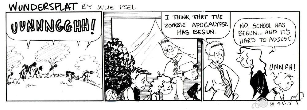 Funnies-Wundersplat Comic-Zombie Apocalypse