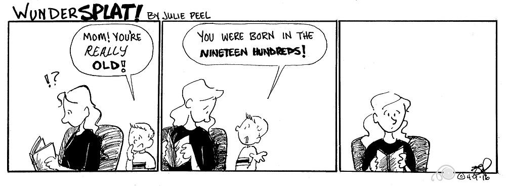 Funnies-Wundersplat- Born in the 1900s