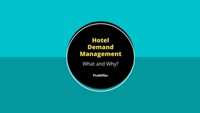 Hotel Demand Management - What and Why?