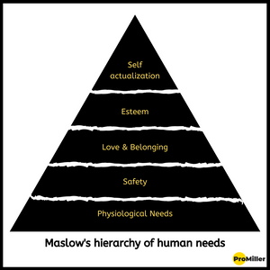 Maslow's theory for Hospitality by ProMiller Hospitality Consultants